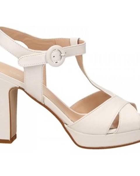 Biele sandále Les Venues