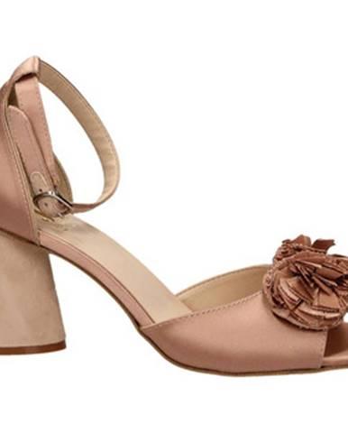 Ružové sandále Jeannot