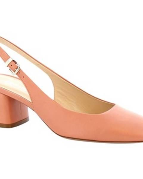 Ružové lodičky Leonardo Shoes