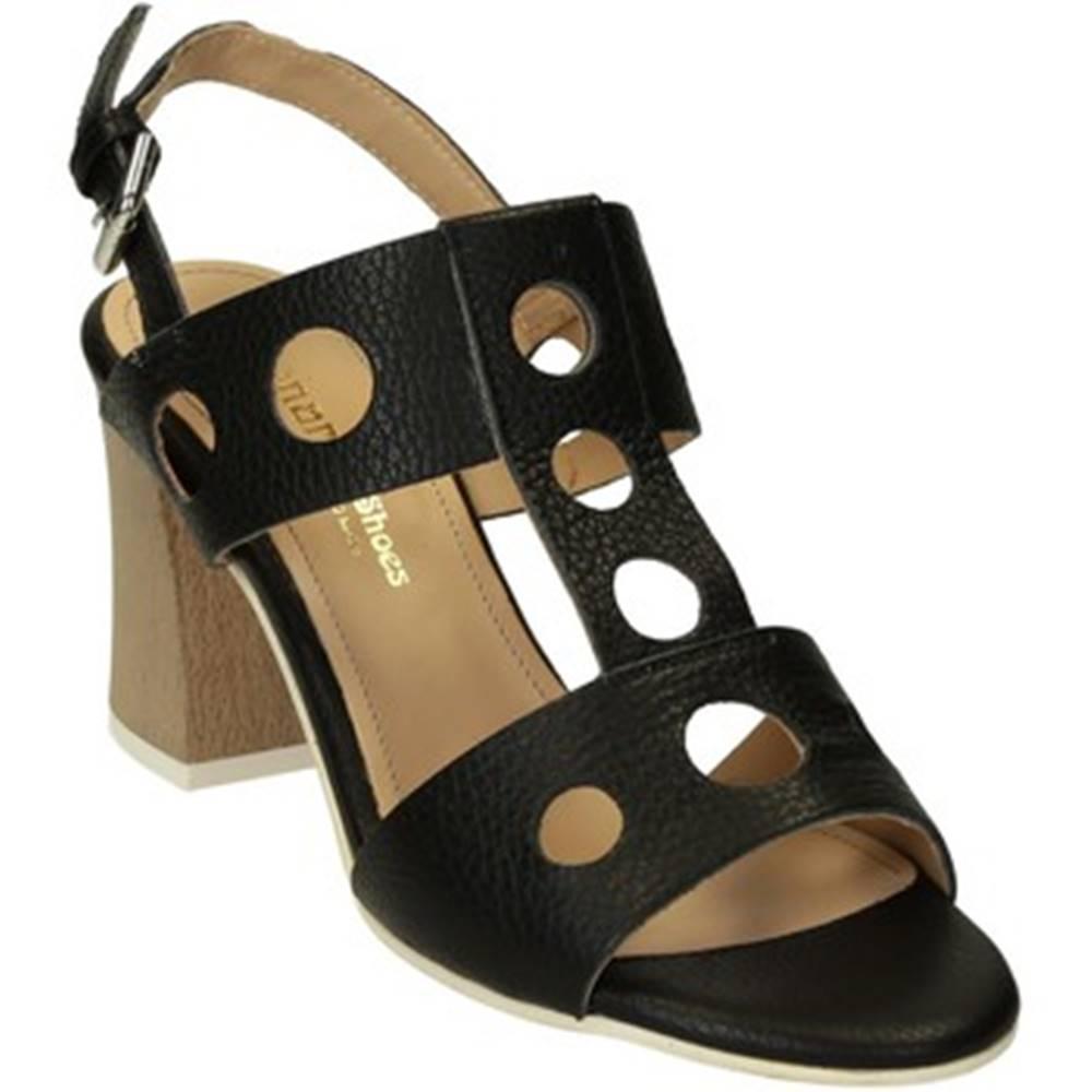 Leonardo Shoes Sandále Leonardo Shoes  604/1 CERVO NERO