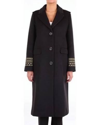 Čierny kabát Isabelle Blanche