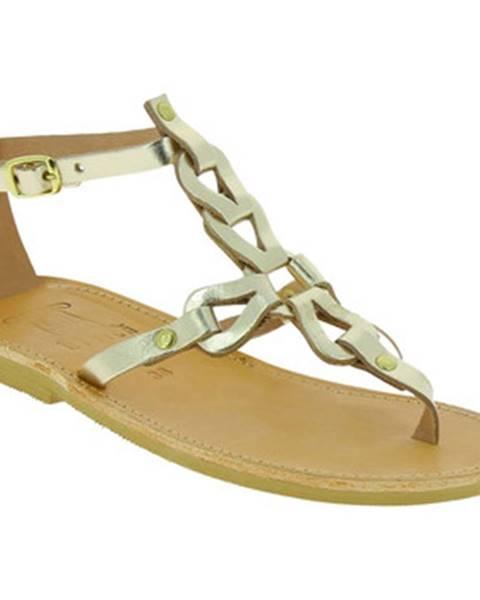 Zlaté sandále Attica Sandals