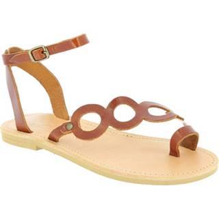 Sandále Attica Sandals  APHRODITE CALF DK-BROWN