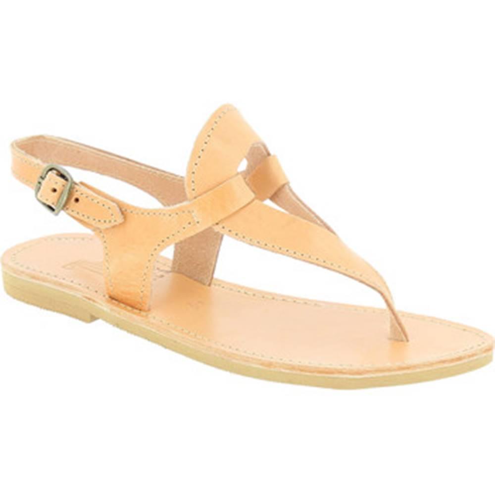 Attica Sandals Sandále Attica Sandals  ARTEMIS CALF NUDE
