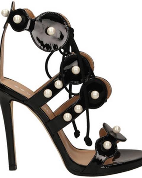 Čierne sandále Marc Ellis