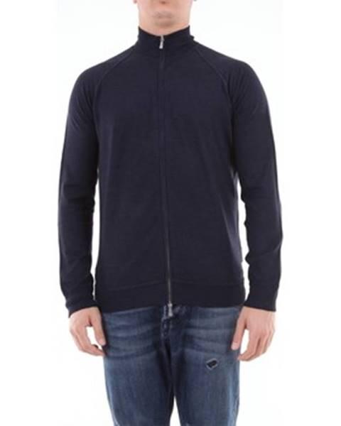 Modrý sveter Drumohr
