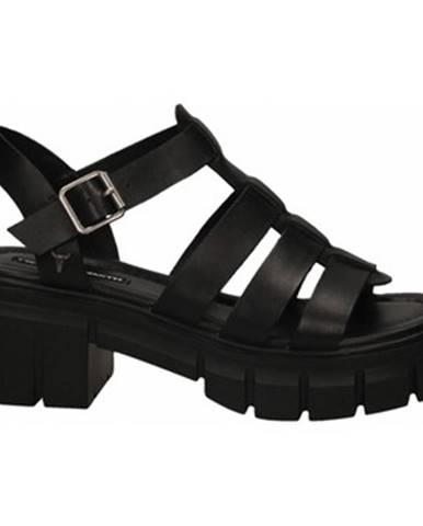 Čierne sandále Windsor Smith