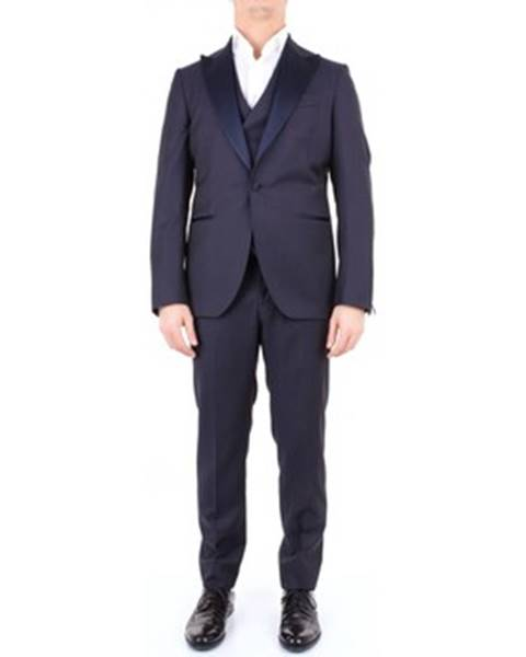 Modrý oblek Sartoria Latorre
