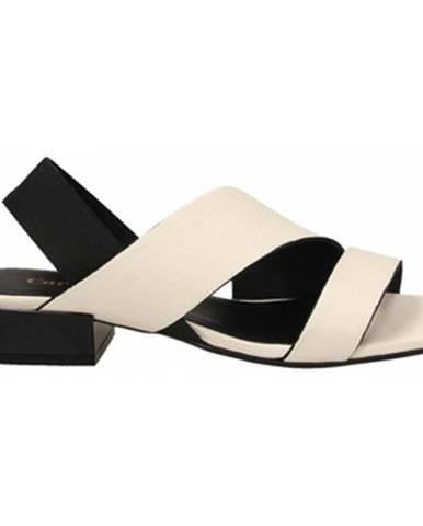 Biele sandále Carmens Padova