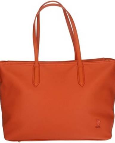 Oranžová kabelka U.S Polo Assn.