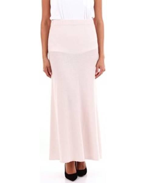 Ružová sukňa Calatura