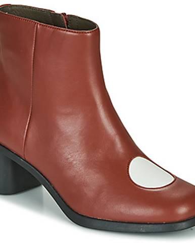 Bordové topánky Camper