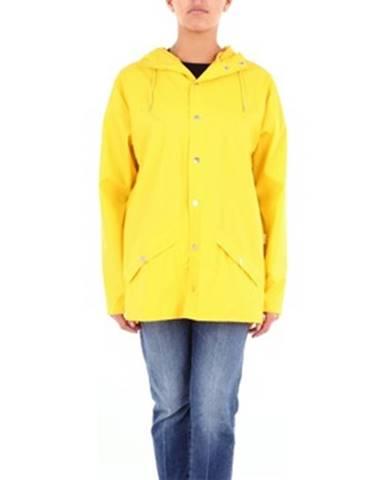 Žltá bunda Rains