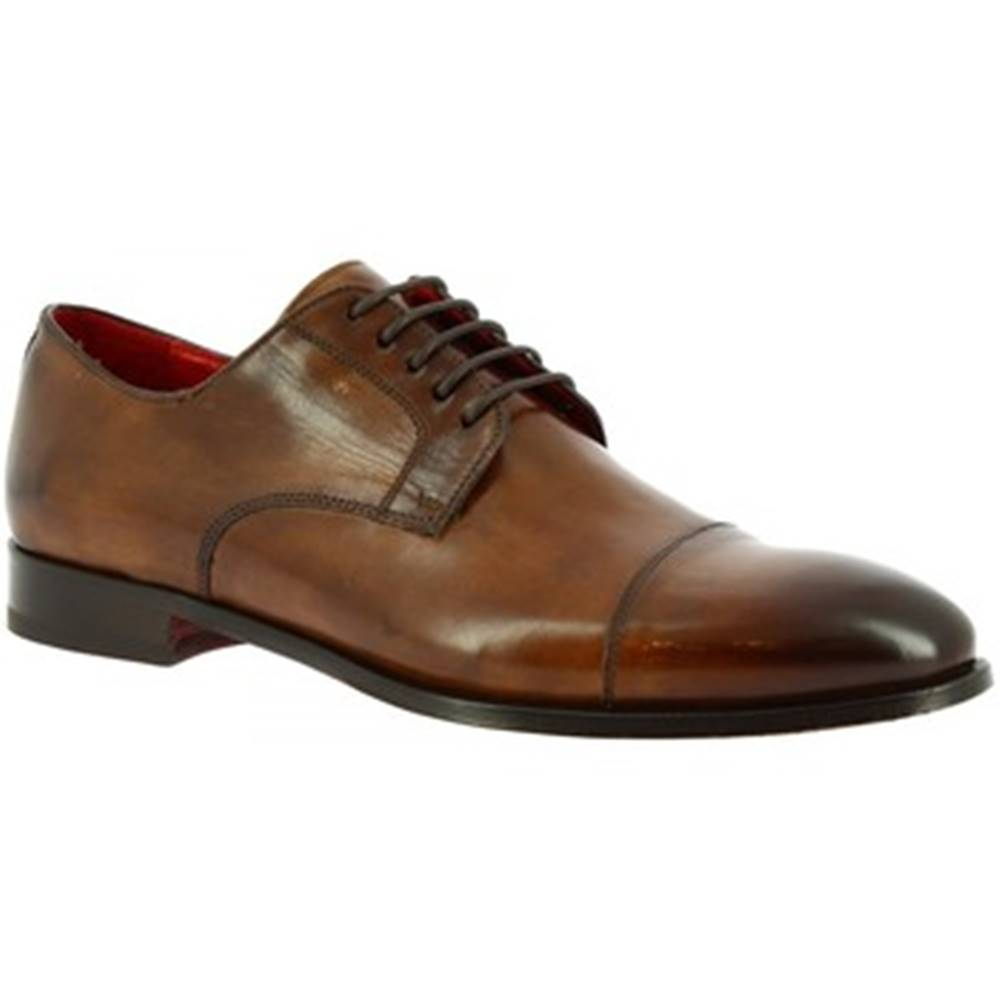 Leonardo Shoes Derbie  9451E20 TOM MONTECARLO AV BRANDY