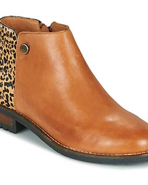 Hnedé topánky Pataugas