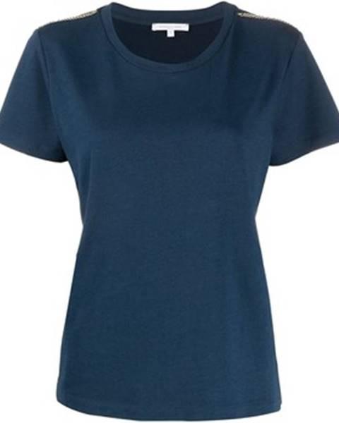 Modré tričko Patrizia Pepe