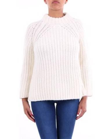 Béžový sveter Crochè