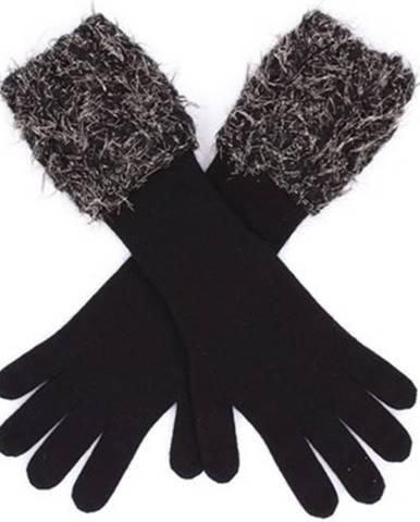 Čierne rukavice Panicale