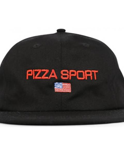 Čierna čiapka Pizza