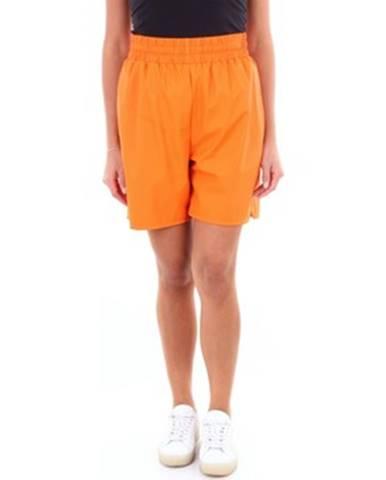 Oranžové šortky Rains