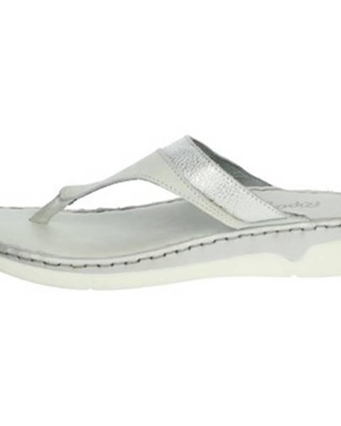 Biele sandále Riposella
