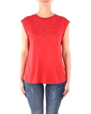 Červené tričko Desigual