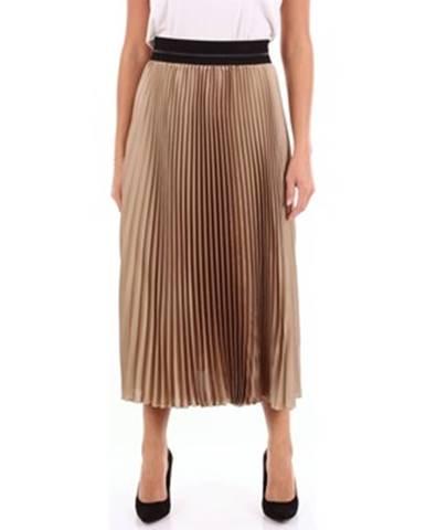 Strieborná sukňa Clips