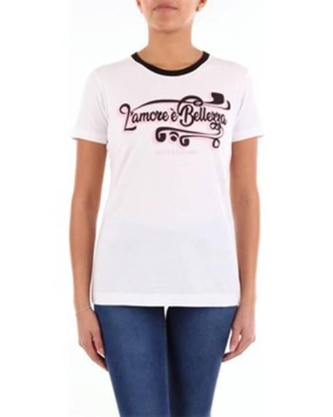 Biele tričko D G