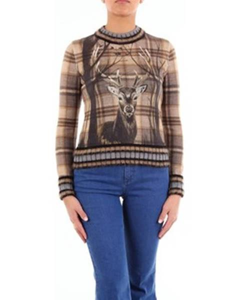 Viacfarebný sveter Alberta Ferretti