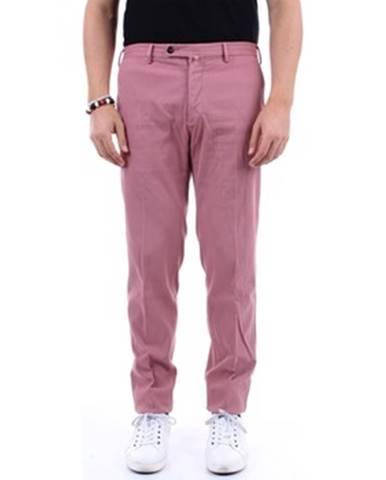 Ružové chinos nohavice Pt Torino