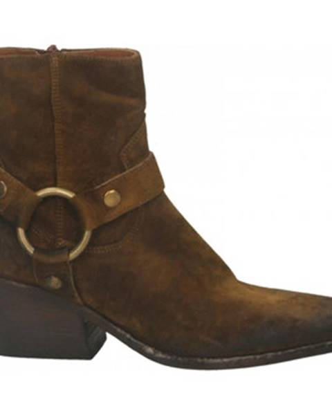 Hnedé topánky Elena Iachi