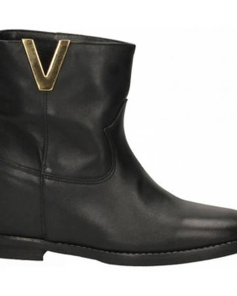 Čierne topánky Champ De Fleurs