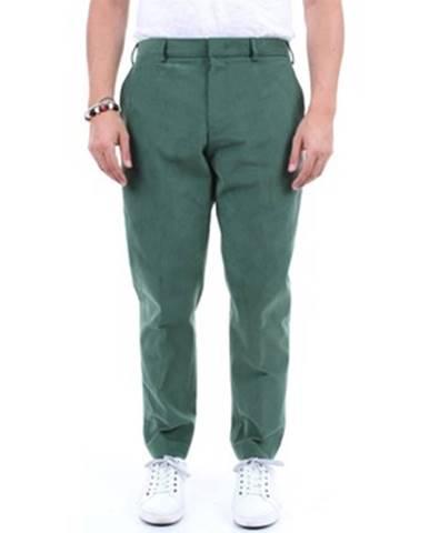 Zelené chinos nohavice Pt Torino
