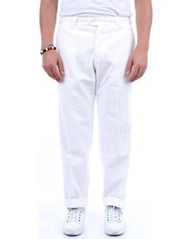 Biele chinos nohavice Pt Torino