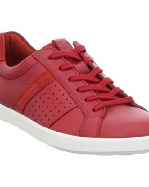 Červené tenisky Ecco