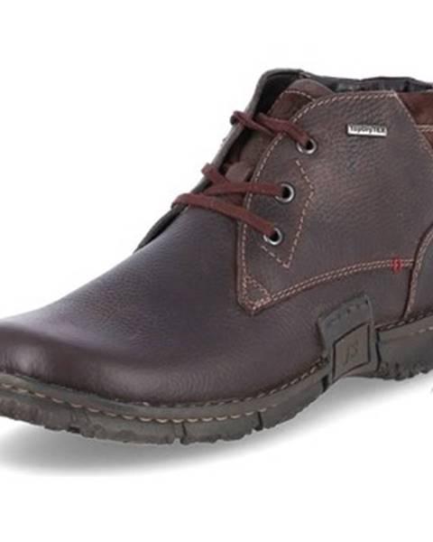 Hnedé topánky Josef Seibel