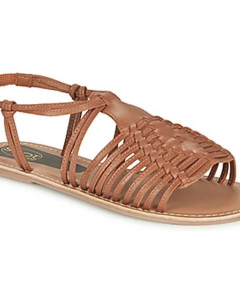 Hnedé sandále Spot on