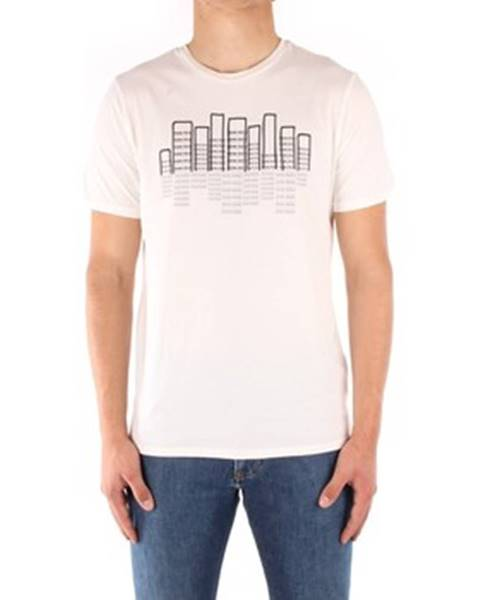 Biele tričko Penn Rich Woolrich