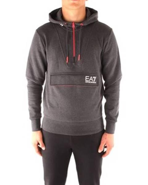 Čierna mikina Emporio Armani EA7