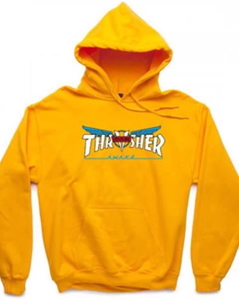 Žltá mikina Thrasher