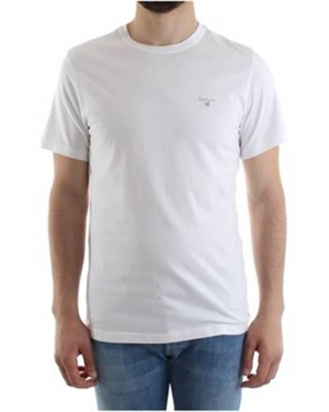 Biele tričko Barbour