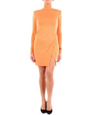 Oranžové minišaty HERON PRESTON