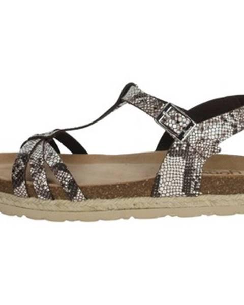 Hnedé sandále Yokono