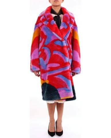 Viacfarebný kabát Stella Mc Cartney