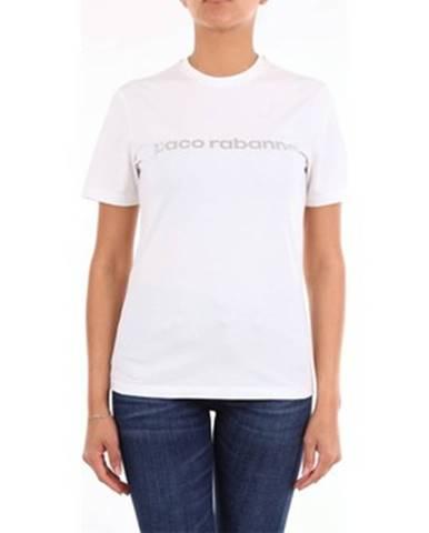 Biele tričko Paco Rabanne