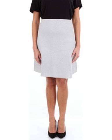 Strieborná sukňa Moschino