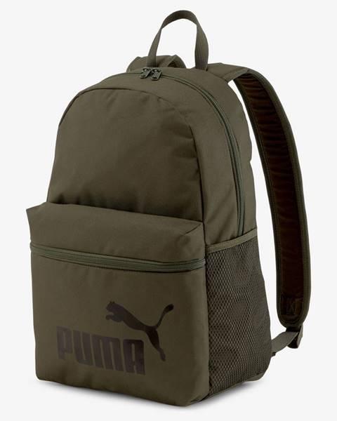 Zelený batoh Puma