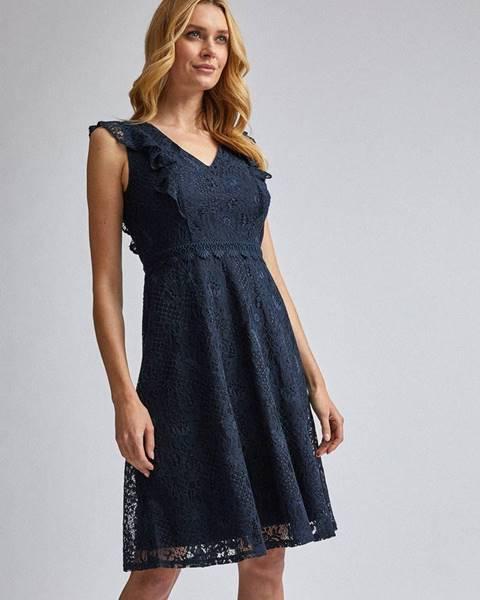 Tmavomodré šaty Dorothy Perkins