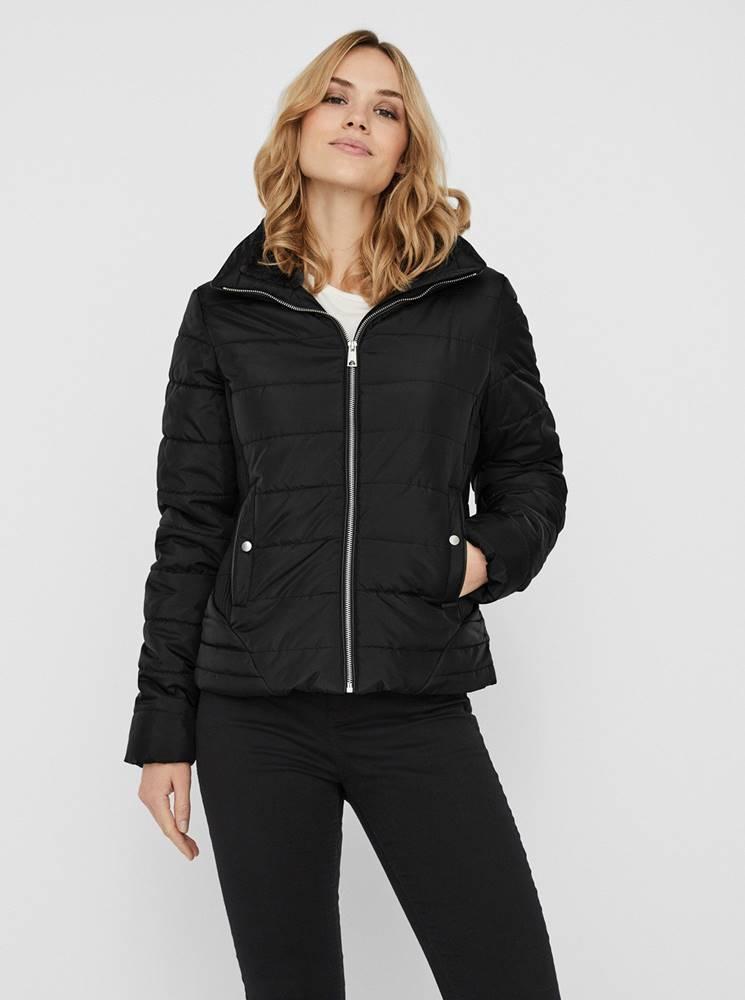 Vero Moda Čierna prešívaná zimná bunda VERO MODA Clarisa