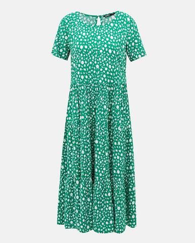Zelené midišaty Only